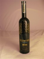 Belvedere  Vodka Intense Unfiltered 80 Diamond Rye Poland 40% ABV 750ml