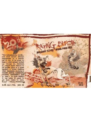 Flying Dog Raging Bitch Belgian Style IPA 6pk 12oz
