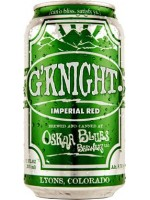 Oskar Blues Brewery  G'Knights Imperial red 12 oz can 4 pk