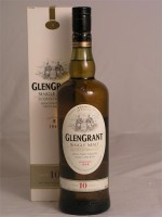 GlenGrant Single Malt 10yr 40% ABV 750ml