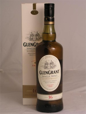 GlenGrant single Malt 16yr 43% ABV  750ml