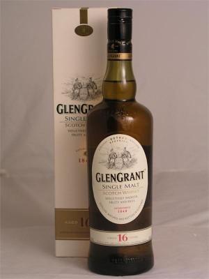 GlenGrant single Malt 16yr 43% ABV  750ml
