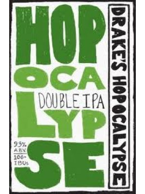 Drake's Brewing Hopocalypse Double IPA 22oz