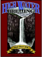 High Water Brewing  Hop Riot IPA 22oz