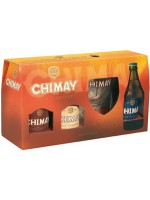 Chimay Sampler Pack 3 Types W/ Glass 330ml