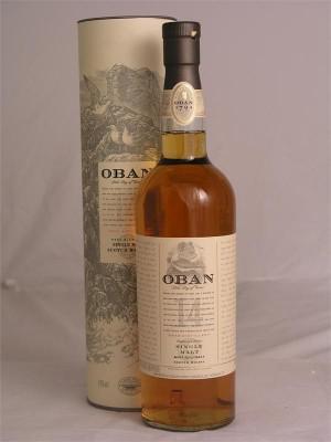 Oban Highland Single Malt Scotch Whisky 14 yr   43% ABV  750 ml