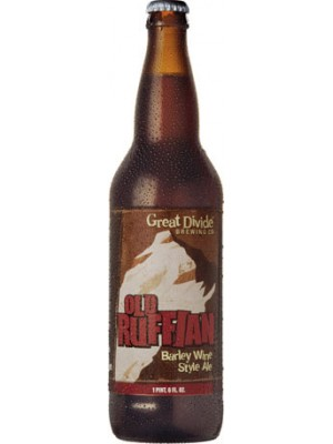 Great Divide Brewing Co. Old Ruffian Barley Wine Style Ale 22oz