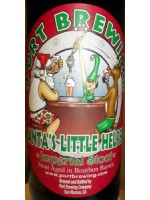 Port Brewing Santa's Little Helper Imperial Stout Barrel Aged 12% ABV 12.7 oz