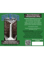 High Water Brewing Retribution Imperial IPA 22oz