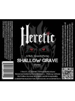 Heretic Brewing Co. Shallow Grave  Porter 22oz