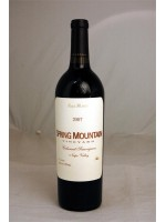 Spring Mountain Cabernet Sauvignon Napa Valley 2007 14.6% ABV 750ml