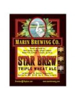 Marin  Brewing Co. Star Brew Triple Wheat Ale  22 oz