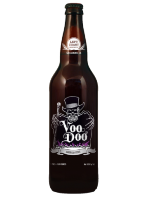 Left Coast Brewery  VooDoo American Stout 22oz