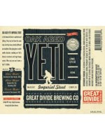 Great Divide Brewing Co Oak Aged Yeti Imperial Stout 22oz
