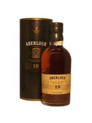 Aberlour 18yr Highland Single Malt 43% ABV  750ml