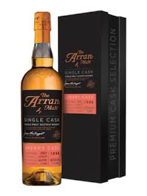 The Arran Single Malt  Sherry Cask 1996 56% ABV 750ml