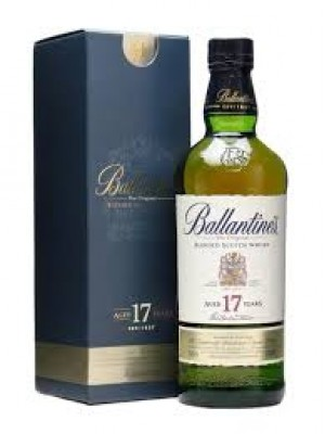Ballantine's 17yr Blended  43% ABV 750ml