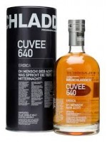Bruichladdich Cuvee 640 Eroica Aged 21 yr Unpeated Islay Single Malt un-chill filtered 46% ABV  750ml