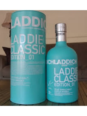 Bruichladdich Scottish Barley The Classic Laddie Unpeated Islay Single Malt 50%ABV 750ml