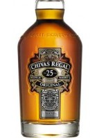 Chivas Regal 25yr Blended Scotch Whisky 40% ABV 750ml