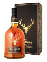 Dalmore  12 Year Single  Malt Scotch Whisky  40% ABV 750ml