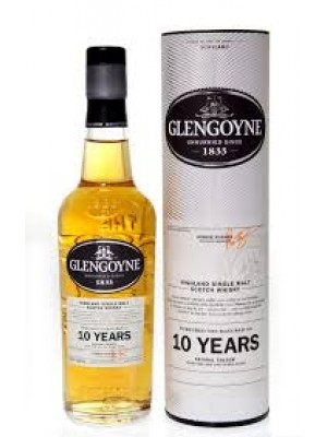Glengoyne Highland Single Malt Scotch  10yr  43%Alc 750ml