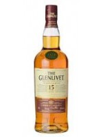 Glenlivet  15 Year French Oak Reserve Single Malt Scotch Whisky 40% ABV 750ml