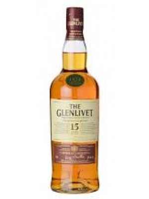 Glenlivet  15yr French Oak Reserve Single Malt 40% ABV 750ml