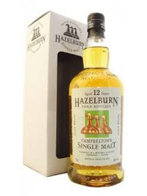 Hazelburn 12 yr Campbeltown Single Malt  46% ABV  750ml