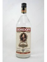 Demidoff Russian Vodka Triple Filtered 40% ABV  1 Liter