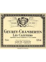 Louis Jadot Gevrey-Chambertin Les Cazetiers Premier Cru 2010  13.5%  ABV  750ml