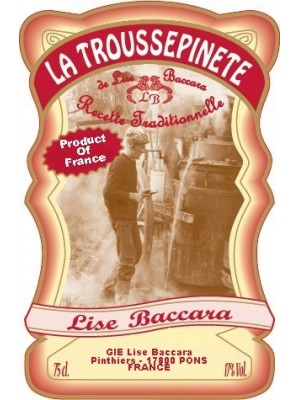 Lise Baccara La Troussepinete White Dessert Wine  France 17% ABV  750ml